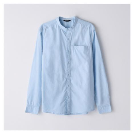 Cropp - Košile se stojáčkem - Modrá