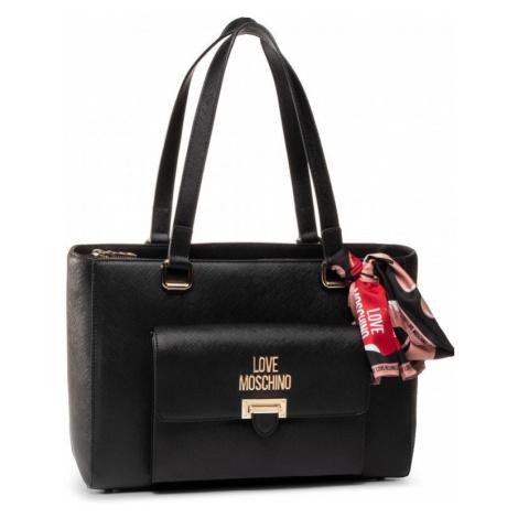 LOVE MOSCHINO LOVE MOSCHINO dámská černá kabelka