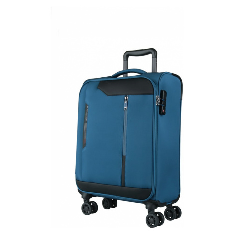 March Kabinový cestovní kufr Stardust 37 l - modrá
