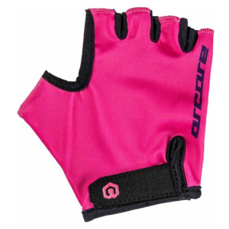 Arcore LUKE růžová - Dětské cyklistické rukavice