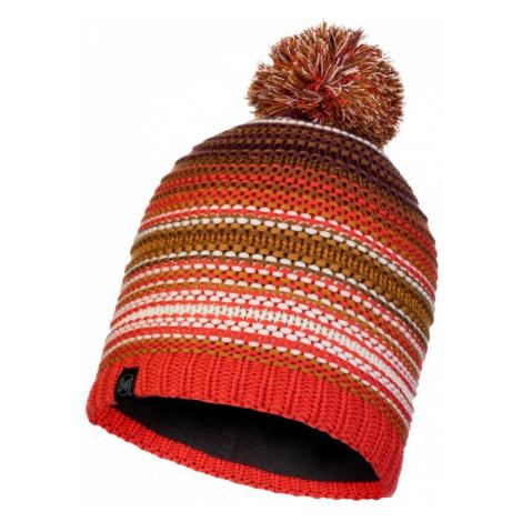 Čepice Knitted a Polar Hat Buff Neper - oranžová/hnědá