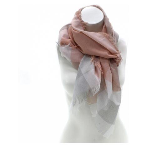 Světle oranžový dámský šátek s pruhem Calanthe Jordan (PL)
