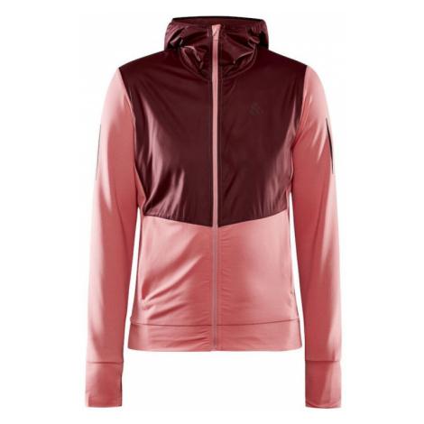 Dámská bunda/mikina CRAFT ADV Charge růžová