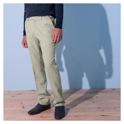 Blancheporte Kalhoty, 100% polyester, nastavitelný pas béžová