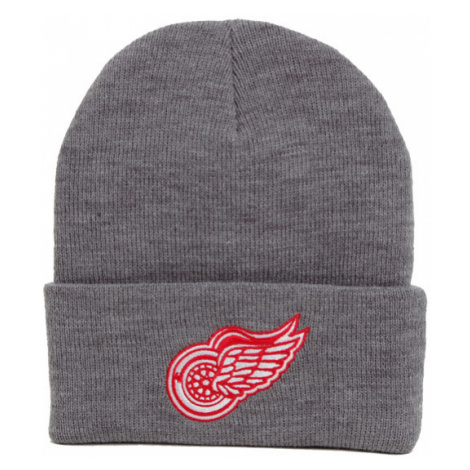 Kulich Mitchell & Ness NHL Team Logo Cuff Knit Beanie Detroit Red Wings