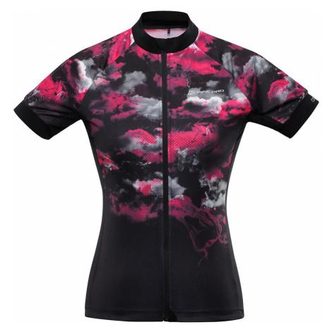 ALPINE PRO MARKA Dámský cyklo dres LTSR577452PB růžová
