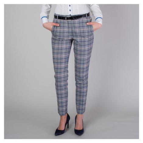 Dámské společenské kalhoty s károvaným vzorem 11576 Willsoor