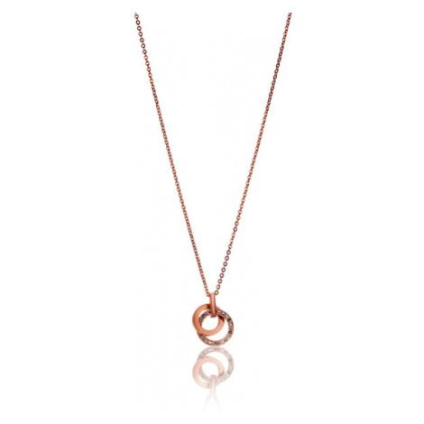 Victoria Walls Ocelový náhrdelník s třpytivým přívěskem VN1090R