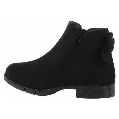 Dívčí módní kotníkové boty