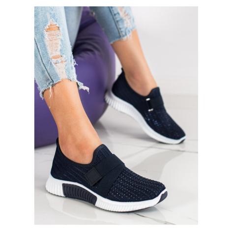 Women's sneakers SHELOVET CRYSTALS