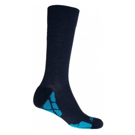HIKING MERINO Funkční ponožky 20200071 modrá Sensor