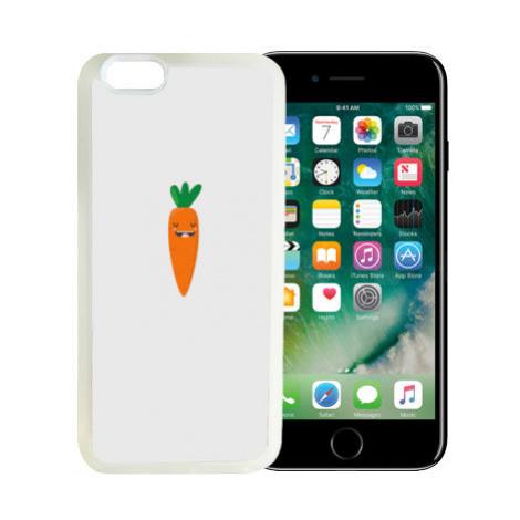 iPhone 7/8 kryt gumový soft Hustá mrkev