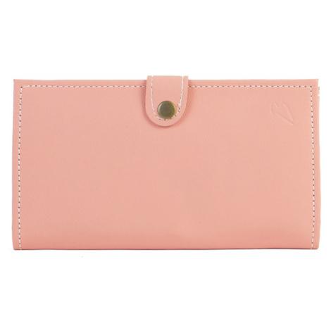Bagind Penny Flamingo - Dámská kožená peněženka růžová, ruční výroba, český design