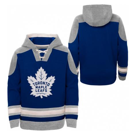 Dětská hokejová mikina s kapucí Outerstuff Ageless must have NHL Toronto Maple Leafs