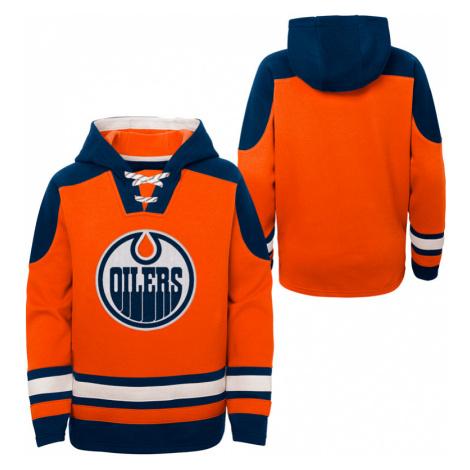 Dětská hokejová mikina s kapucí Outerstuff Ageless must have NHL Edmonton Oilers