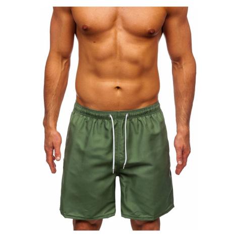 Zelené pánské plavecké šortky Bolf ST003 J.STYLE