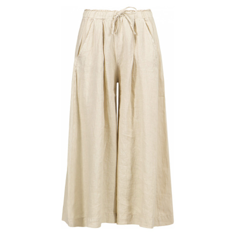Kalhoty Deha HYPE béžová