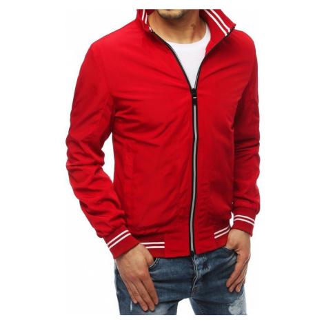 Dstreet Červená přechodná bunda
