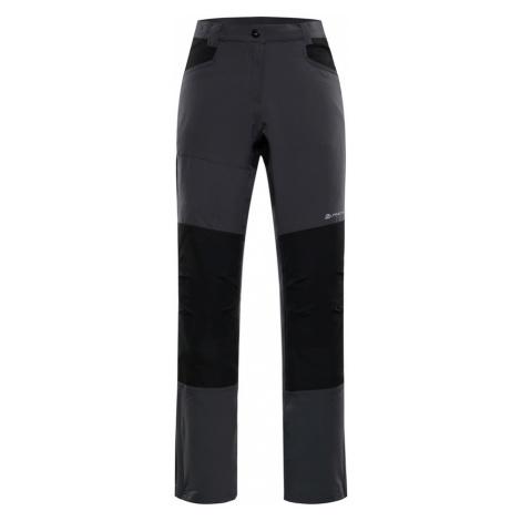 ALPINE PRO SAMBARA 3 Dámské softshellové kalhoty LPAN309779 tmavě šedá