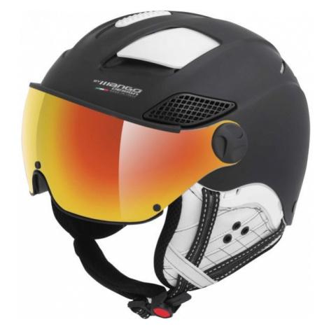Mango MONTANA PRO+ černá - Unisex lyžařská přilba s visorem