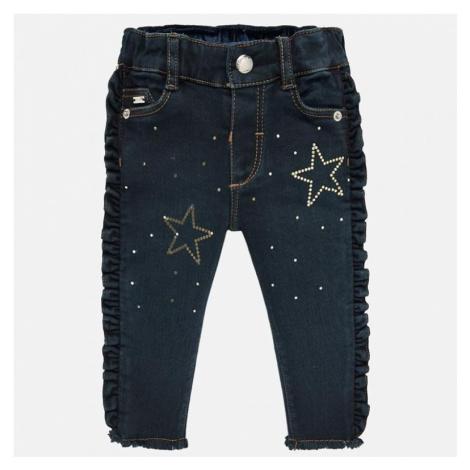 Riflové kalhoty MAYORAL 2529 | modrá