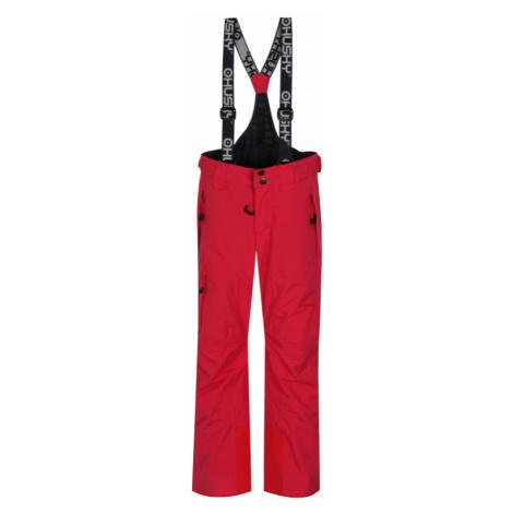 Dětské lyžařské kalhoty HUSKY Zeus Kids výrazně růžová