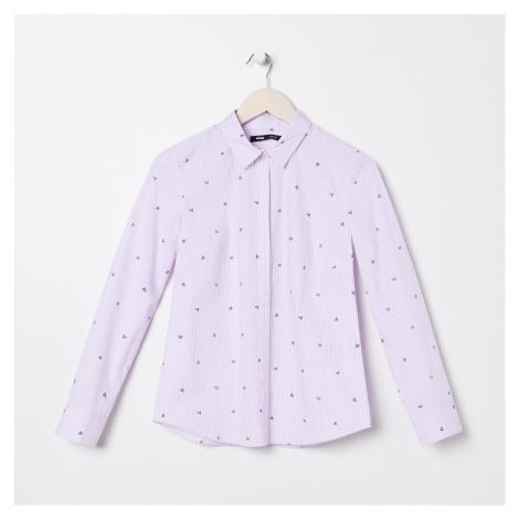 Sinsay - Pruhovaná košile - Vícebarevná