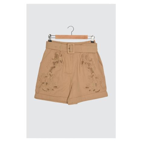 Trendyol Stone Embroidery Detailed Shorts & Bermuda