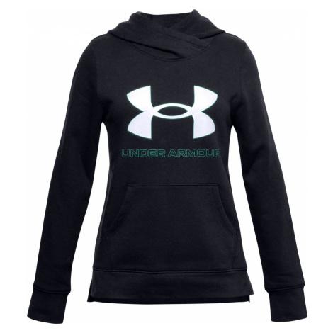 Mikina Under Armour Rival Fleece Logo Hoodie-BLK