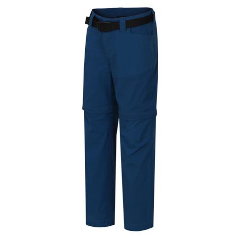 HANNAH TOPAZ JR Dětské outdoorové kalhoty - odepínací 10003154HHX01 Moroccan blue