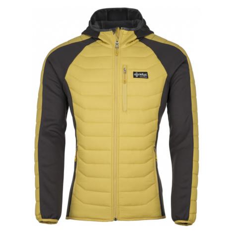 KILPI Pánská outdoor bunda ADISA-M JM0208KIYEL Žlutá