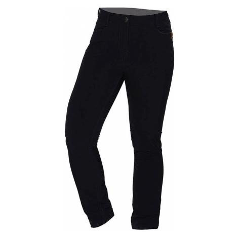 NORTHFINDER GARISA Dámské kalhoty v džínovém stylu NO-4685OR269 černá