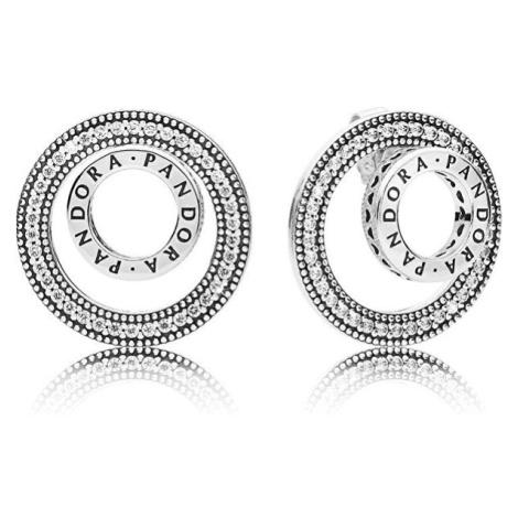 Pandora Luxusní stříbrné náušnice 3v1 297446CZ