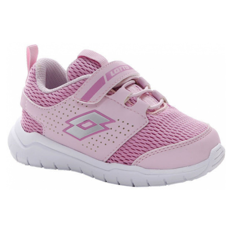 Lotto SPACEULTRA INF SL růžová - Dětské volnočasové boty