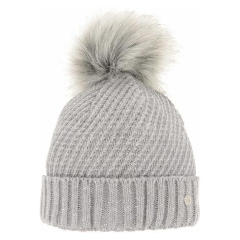 Dámská zimní čepice Relax AVRIL - světle šedá
