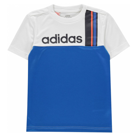 Adidas Stripe T-Shirt Junior Boys
