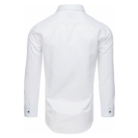 Tuxedo shirt with ruffles white DX1744 DStreet