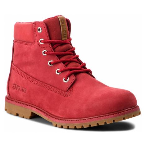 Turistická obuv BIG STAR - BB274441 Red