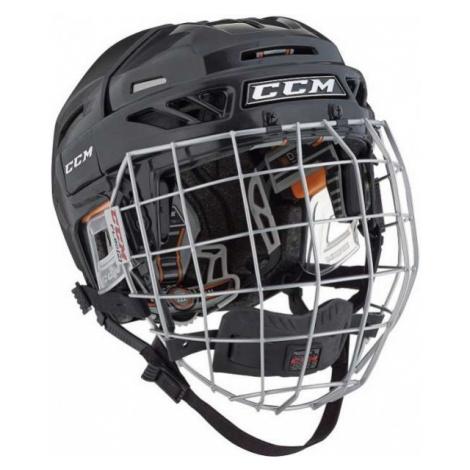 CCM FITLITE 3DS COMBO JR černá - Dětská hokejová helma