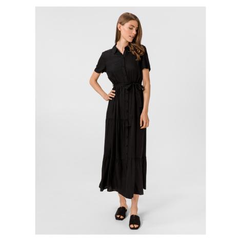Oksana Dolca Šaty Vero Moda Černá