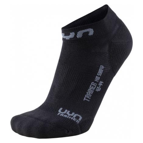 Pánské běžecké ponožky UYN Trainer No Show Multisport Socks White