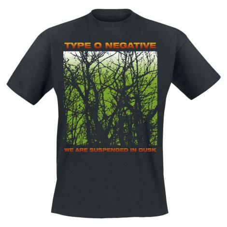 Type O Negative Suspend In Dusk Tričko černá