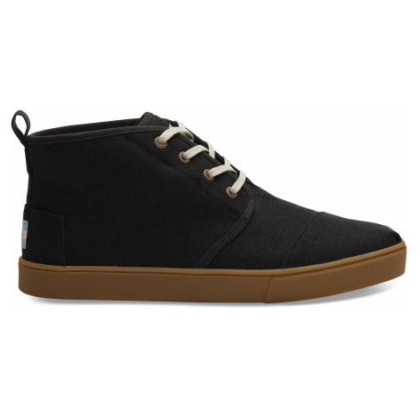 Black Heritage Canvas Cup Men Bota Boot Toms