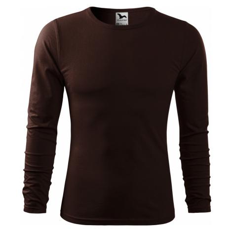 Malfini FIT-T Long Sleeve Pánské triko 11927 kávová