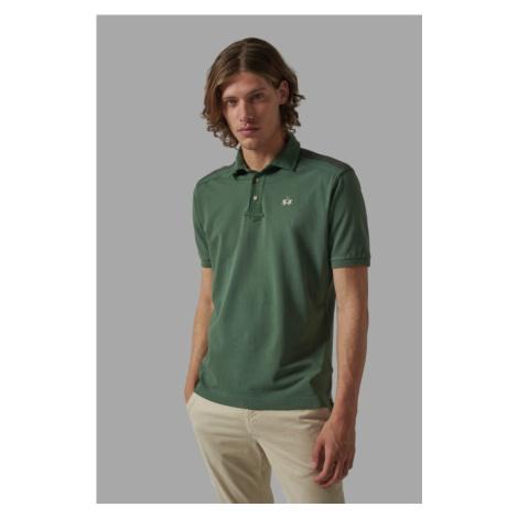 Polokošile La Martina Man Polo Short Sleeves Cotton - Zelená