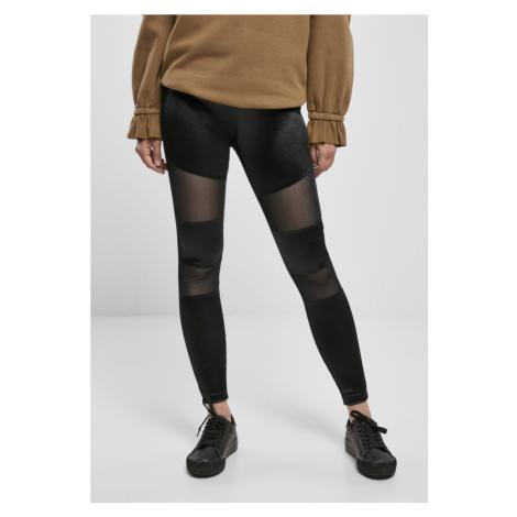 Ladies Shiny Tech Mesh Leggings Urban Classics