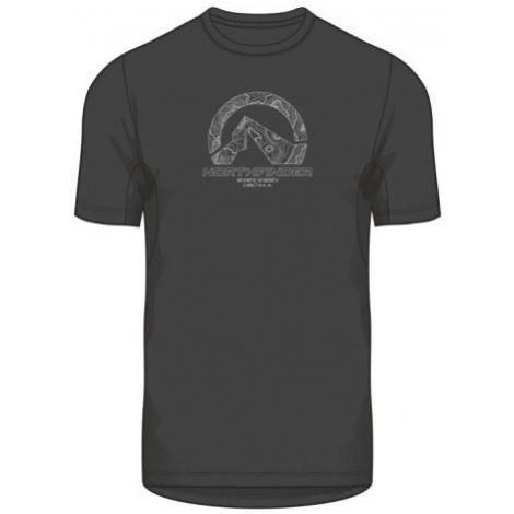 NORTHFINDER SONNY Pánské triko TR-35372OR269 černá