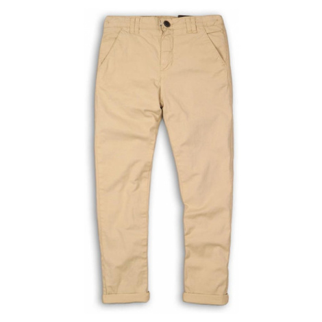 Kalhoty chlapecké chino, Minoti, Moto 8, béžová