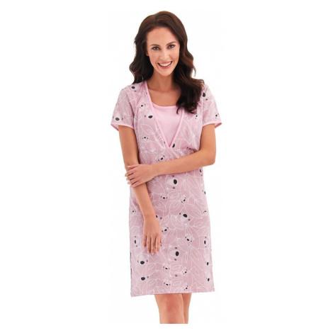 Taro Mateřská košile Linda růžová koaly