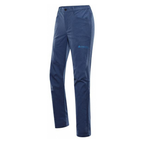 Timer modrá pánské rychleschnoucí softshellové kalhoty ALPINE PRO